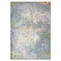 """Rizzy Home Broken Damask 8'10"""" X 11'10"""" Powerloomed Area Rug in Gray"""