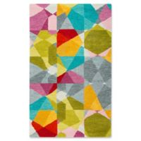 Rizzy Home Geometric 3' X 5' Tufted Area Rug in Yellow