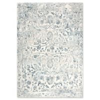 "Rizzy Home Vine/scroll 3'11"" X 5'6"" Powerloomed Area Rug in Cream"