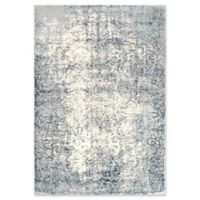 """Rizzy Home Vine/scroll 7'10"""" X 9'10"""" Powerloomed Area Rug in Cream"""