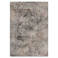 "Rizzy Home Broken Medallion 5'3"" X 7'6"" Powerloomed Area Rug in Beige"