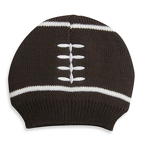 Knit Football Beanie