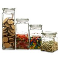 Circleware Yorkshire Beverage Dispenser Canisters (Set of 4