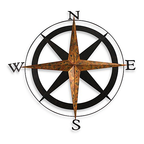 Metal Compass Wall Art  sc 1 st  Bed Bath u0026 Beyond & Metal Compass Wall Art - Bed Bath u0026 Beyond