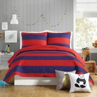 Urban Playground Lavelle Full/Queen Quilt in Red