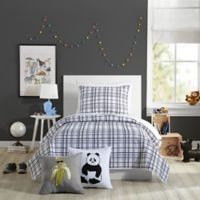 Urban Playground Marquis Twin Quilt in Charcoal