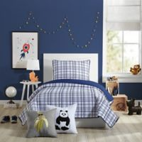 Urban Playground Marquis Twin Quilt in Navy