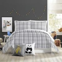 Urban Playground Marquis Full/Queen Quilt in Charcoal