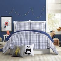 Urban Playground Marquis Full/Queen Quilt in Navy