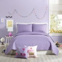 Urban Playground Coty Full/Queen Quilt in Purple