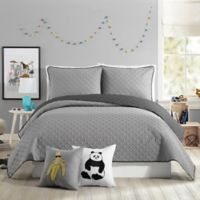 Urban Playground Corbin Full/Queen Quilt in Grey