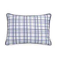 Urban Playground™ Marquis Standard Pillow Sham in Navy/White
