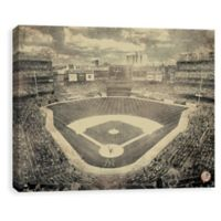 MLB New York Yankees Vintage Stadium Printed Canvas Wall Art