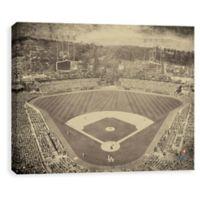 MLB Los Angeles Dodgers Vintage Stadium Printed Canvas Wall Art