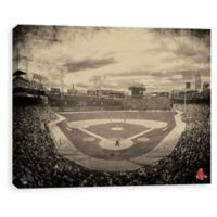 MLB Boston Red Sox Vintage Stadium Printed Canvas Wall Art