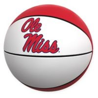 University of Mississippi Official-Size Autograph Basketball