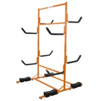 RAD Deluxe Heavy-Duty Kayak Rack in Orange