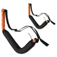 RAD Sportz Wall Hanger Pro Kayak and Stand Up Paddle Board Rack in Black
