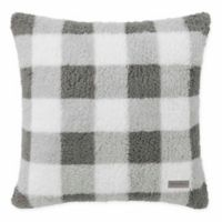 Eddie Bauer® Snowfield Square Throw PIllow in Grey