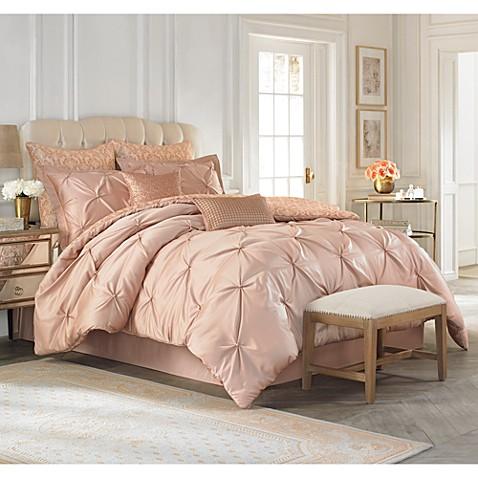 vince camuto® rose gold king comforter set - bed bath & beyond