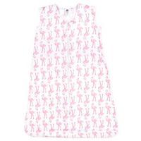 Hudson Baby® Size 0-6M Flamingo Sleeping Bag in Pink