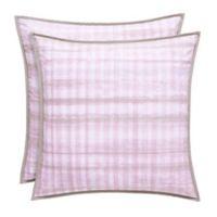 Oscar/Oliver Serena European Pillow Sham in Pink