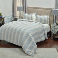 Rizzy Home Mackie King Duvet Cover in Blue