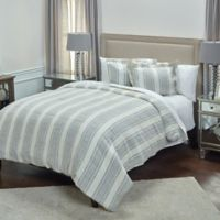 Rizzy Home Charlton Ivy King Duvet Cover in Ivory