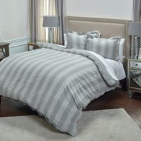 Rizzy Home Katherine Grace Queen Duvet Cover Set in Ivory