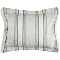 Rizzy Home Williamson Standard Pillow Sham in Blue