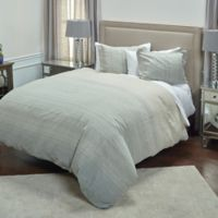 Rizzy Home Sebastian King Duvet Cover in Natural