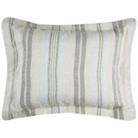 Rizzy Home Terrance Stripe King Pillow Sham in Natural