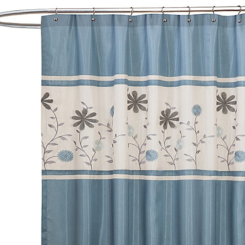 Eclectic Bathroom Shower Curtain