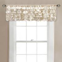 Gigi Layered Window Valance in Ivory