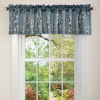 Lush Décor Cocoa Ruffled Window Valance
