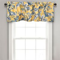Dolores Room Darkening Window Valance In Yellow