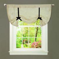 Lydia Tie-Up Window Valance in Beige