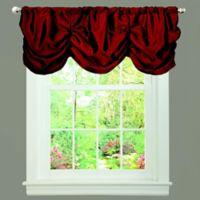 Estate Garden Window Valance in Red