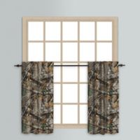 Realtree EDGE™ 24-Inch Rod Pocket Window Curtain Tier Pair in Green