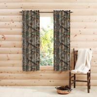 Realtree® Edge™ Camo 63-Inch Rod Pocket Window Curtain Panel Pair in Green