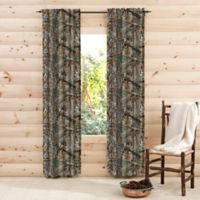 Realtree® Edge™ Camo 84-Inch Rod Pocket Window Curtain Panel Pair in Green