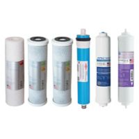 APEC Water® 6-Piece 90 GPD pH+ Replacement Filter Set for Reverse Osmosis Systems