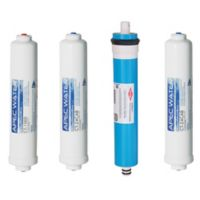 APEC Water® Ultimate 4-Piece 90 GPD Replacement Filter Set for Reverse Osmosis Systems