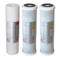 APEC Water® 3-Piece 10-Inch Replacement Pre Filter Set for Reverse Osmosis Systems