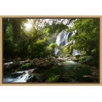 Amanti Art® Patrick Foto 1.88-Inch x 16-Inch Framed Canvas in Maple
