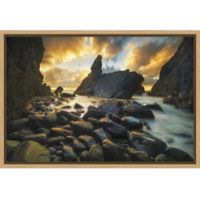 Amanti Art® Yan Zhang Beachy 1.88-Inch x 16-Inch Framed Canvas in Maple
