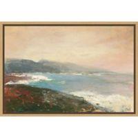 Amanti Art® Julia Purinton Beachy 1.88-Inch x 16-Inch Framed Canvas in Maple