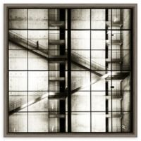 Amanti Art® Stairways 22-Inch Square Framed Canvas Wall Art in Grey