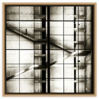 Amanti Art® Stairways 22-Inch Square Framed Canvas Wall Art in Maple