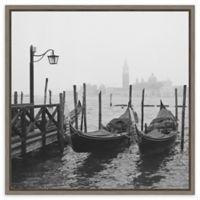 Amanti Art® Yuppidu Beach Vibes 22-Inch Square Framed Canvas
